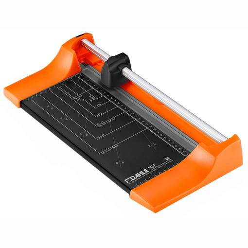 Imagine Trimmer hartie Dahle 507, 320 mm, 0.8 mm, colectia Color ID,  portocaliu distractiv